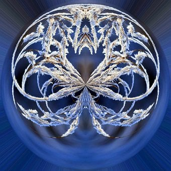 Decoration, Snowflake, Ornate, Art, Desktop, Abstract