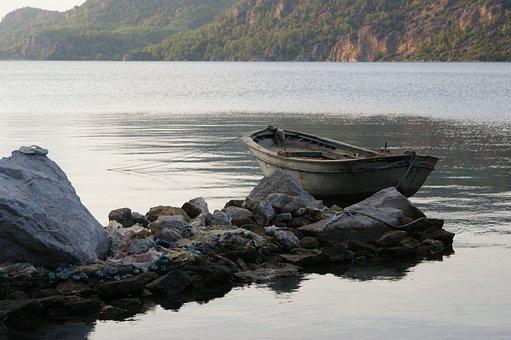 Body Of Water, Beach, No One, Marine, Travel, Outdoor