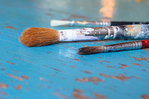 Brush, Paint, Color, Art, Painting, Brushes, Artists