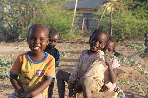 Child, People, Outdoors, Portrait, Africa, Kenya