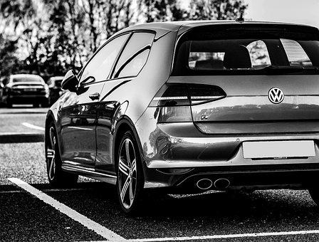 Volkswagen Golf R, Volkswagen, Gold, R, Automobile