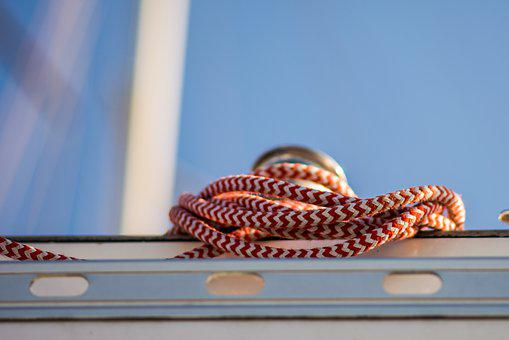 Knot, Yachting, Ropes, Sea, Ocean, Rope, Yacht