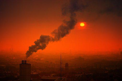 Smoke, Pollution, Sunset, Smog, Air Pollution, Air, Sun