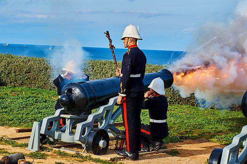 War, Soldiers, United Kingdom, Artillery, Gun, Shot