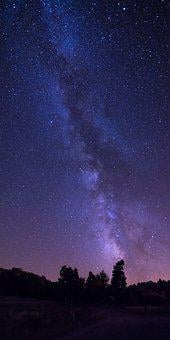 Sky, Space, Astronomy, Desktop, Moon, Milky Way