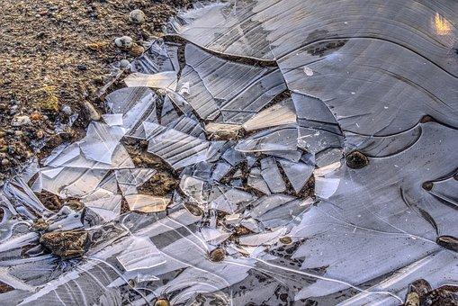 Broken, Splitter, Chip, Fragmented, Fragment, Ice