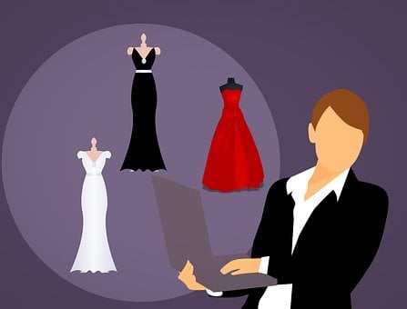 Fashion, Dress, Selling, Business Woman, Online, Store