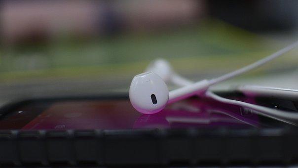 Closeup, Color, Summer, Equipment, Iphone, Headset