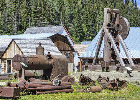 Barkerville, Gold Mine, Town, Wild West, Wooden