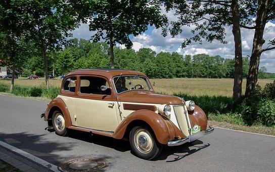 Auto, Wanderer, Auto Union, Oldtimer, Vehicle