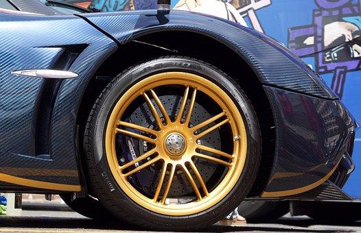 Car, Wheel, Transport, Vehicles, Motor, Chrome