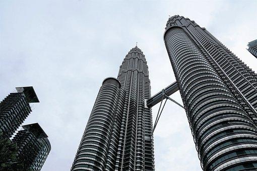 Skyscraper, Architecture, City, Large, Tower, Skyline