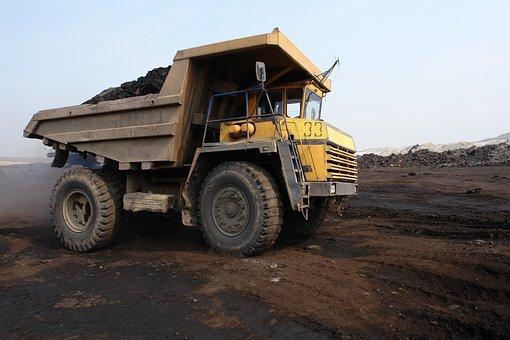 Truck, Belaz, Coal, Coal Mining