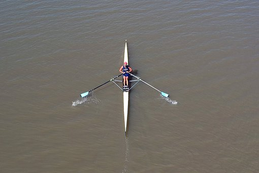 Body Of Water, Remo, Sport, Lake, Olympic Rowing, Bier