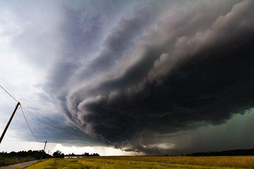 Thunderstorm, Storm, Super Cell, Forward, Sky, Cloud