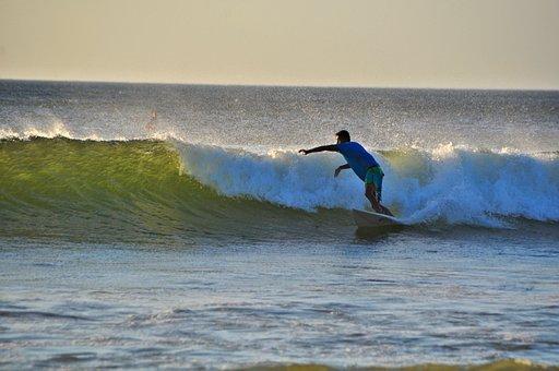 Surf, Waters, Wave, Ocean, Beach, Coast, Water Sports