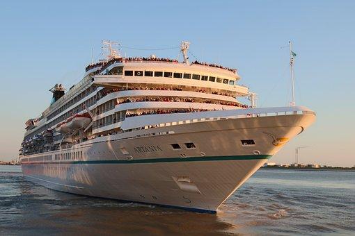 Sea, Waters, Travel, Cruise Ship, Ship
