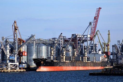 Industry, Hard, Port, Majority, Crane