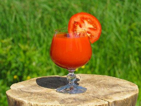Summer, Food, Nature, Juice, Tomato, Drink, Useful