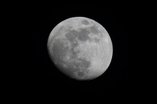 Moon, Astronomy, Luna, Full Moon, Celestial Body