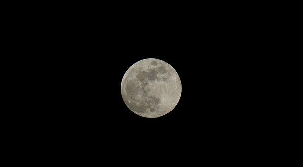 Moon, Astronomy, Lunar, Luna, Full Moon