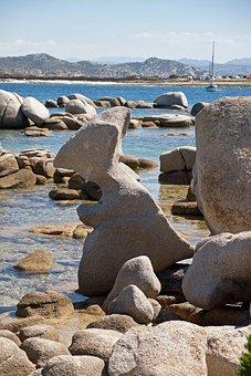 Waters, Sea, Coast, Beach, Nature, Panorama