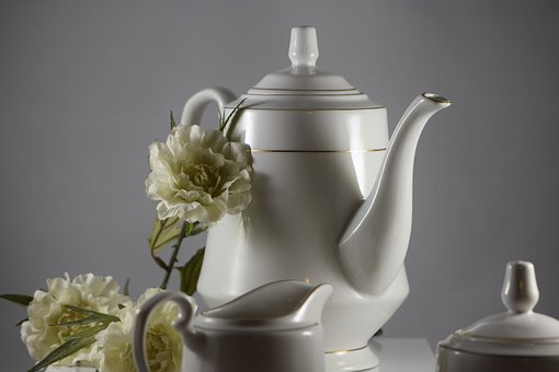 Tea, Cup, Drink, Pot, Coffee, Hot, Cafe, Space