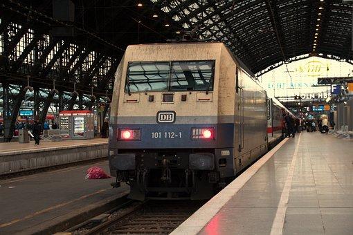 Train, Transport System, Railway, Station, Metro