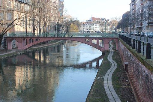 Bridge, Body Of Water, River, Architecture, Channel
