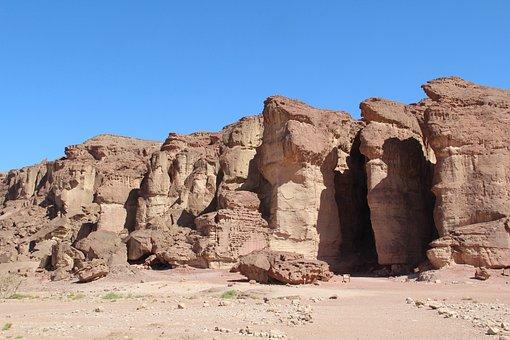 Desert, Rock, Tourism, Israel, Timnan National Park