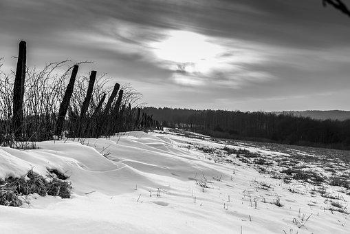 Winter, Nature, Landscape, Snow, Panorama, Sky, Cold