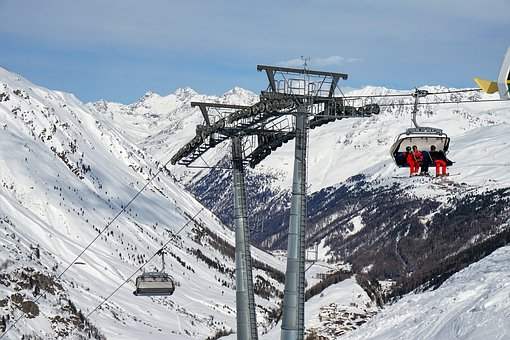 Snow, Winter, Mountain, Coldly, Sports, Nature