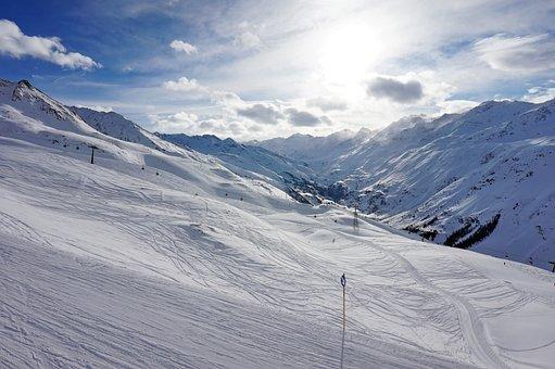 Snow, Winter, Mountain, Coldly, Sports, Mountain Peak