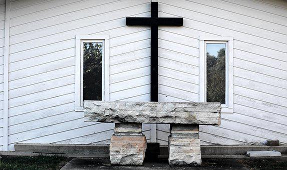 Church, Alter, Stone, Stone Alter, Lent, Forgiven