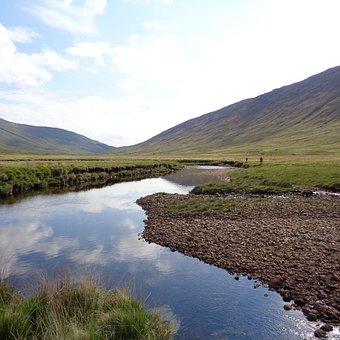 Scotland, Walk, Hike, Trail, Backpacking, Water
