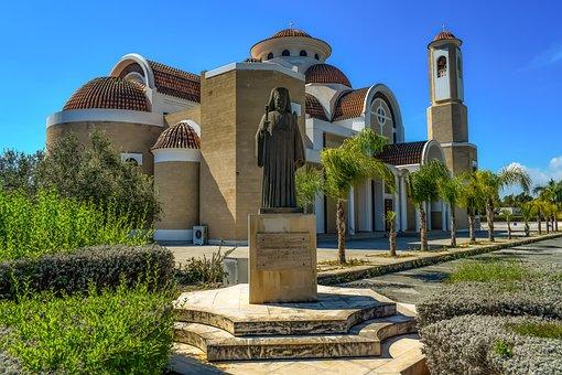 Cyprus, Larnaca, Ayios Georgios Kontos, Architecture