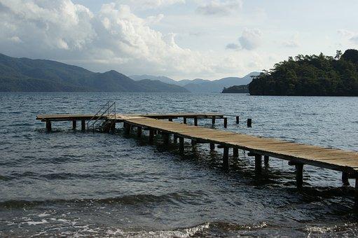 Body Of Water, Marine, Beach, Nature, Travel, No One