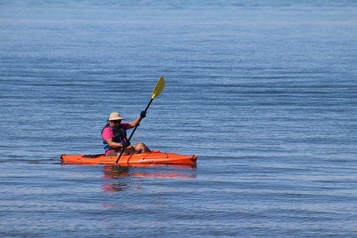 Water, Recreation, Watercraft, Sea, Canoe, Kyak