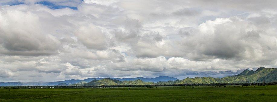 Panoramic, Nature, Landscape, Outdoors, Sky, Cloud
