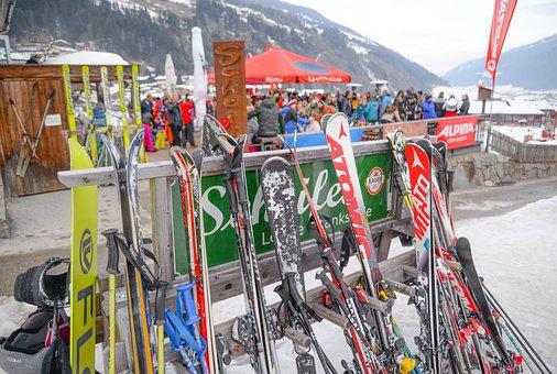 Ski, Apres Ski, Winter Sports, Drink, Bar, Austria