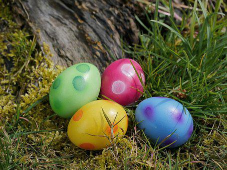 Easter, Easter Eggs, Egg, Color, Colorful