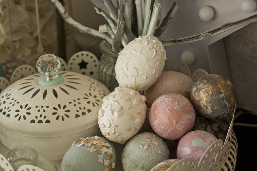 Eating, Color, Easter, As, Basket, Easter Eggs, Egg