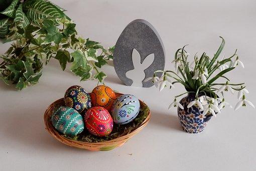 Ornament, Easter, Egg, Close, Basket, Season, Give