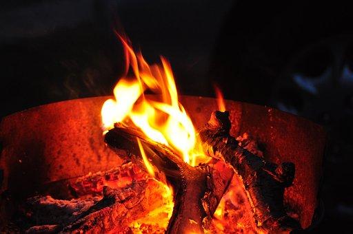 Fire, Flame, Flare-up, Heat, Hot, Burn, Campfire, Wood