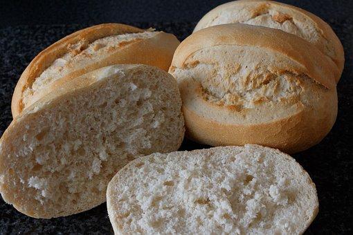 Bread, Loaf, Food, Flour, Bakery, Crusty, Bun
