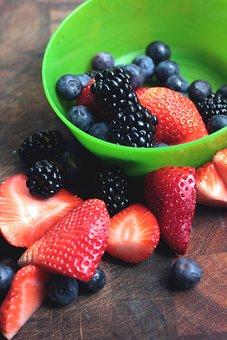 Fruit, Food, Sweet, Berry, Blueberry, Freshness
