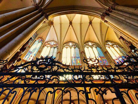 Cologne, Dom, Church, Within, Glass, Cathedral