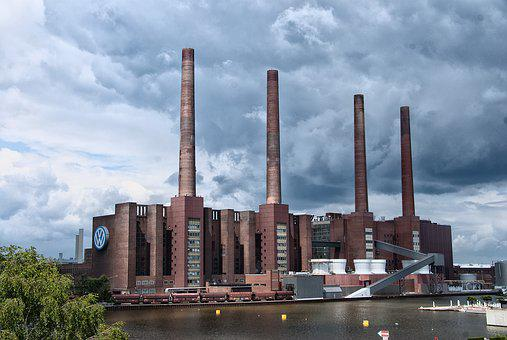Architecture, Industry, Sky, Building, Power Plant