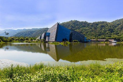 Waters, Lake, Nature, River, Landscape, Lanyang Museum