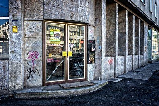 Business, Music, Local, Door, Road, Düsseldorf